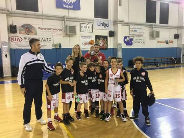 Mini Olimpia Milano torneo di natale