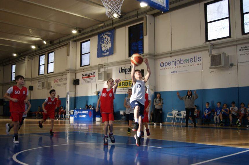 mini basket affrico torneo di pasqua
