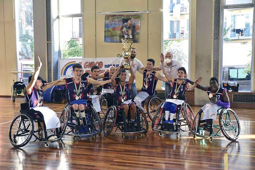 Basket in Carrozzina Under: le Volpi Rosse vincono anche la Supercoppa